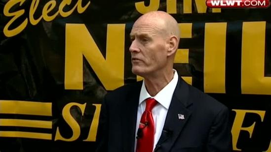 Sheriff-elect Neil holds news conference