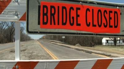 Closed Bridge Shuts Access Between Two Towns