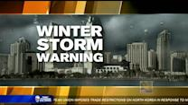 San Diego about to get hit with a winter storm