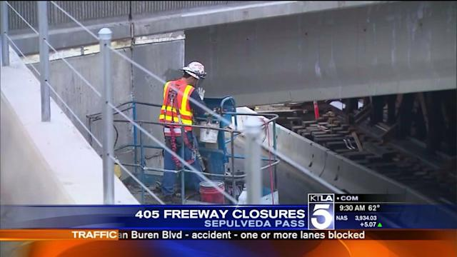 Section of the 405 Freeway to Close for Construction