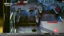 "CCTV footage shows moment when escalator at Shanghai mall ""devours"" cleaner's foot"