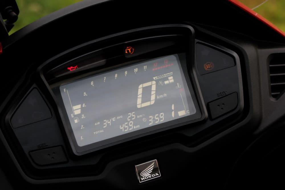 搭配上騎乘資訊更全方位LED儀表