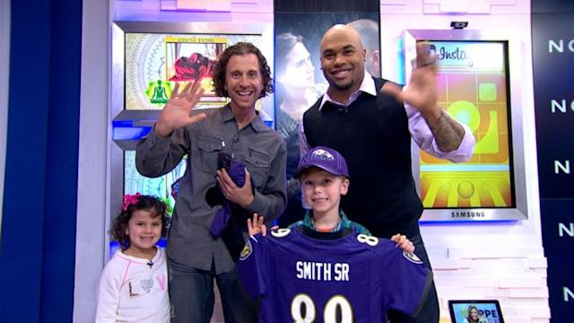 Football Star Surprises 7-Year Old Fan