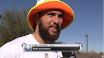 Indianapolis Colts Andrew Luck on 2015 Pro Bowl: 'It's been a great reception'
