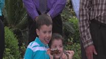 REPLAY: Grandparents of kidnapped boys speak to the media; introduce Chase and Cole Hakken