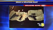Guns, drugs, and weapons seized in Southwest Fresno