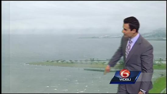 Lingering rain will lead to cold and breezy conditions