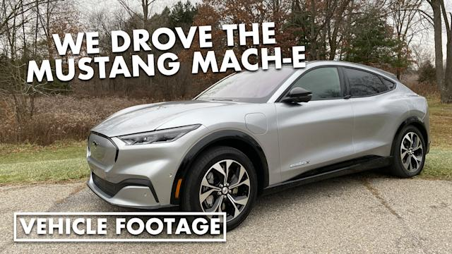 2021 Ford Mustang Mach E First Drive Electric Range Performance Pricing Features Autoblog