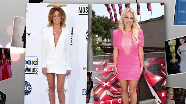 Stars Plunge into Sexy Red Carpet Styles