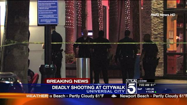 Officer-Involved Shooting at Universal CityWalk Leaves 1 Dead