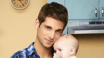 Jean-Luc Bilodeau plays a baby daddy in new show