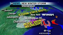 New Winter Storm System Brews in Time for Workweek