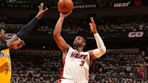 Dwyane Wade finding old form for Heat