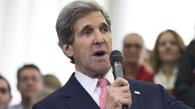 John Kerry begins first day as secretary of state