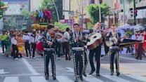 International mariachi festival parades through Mexico