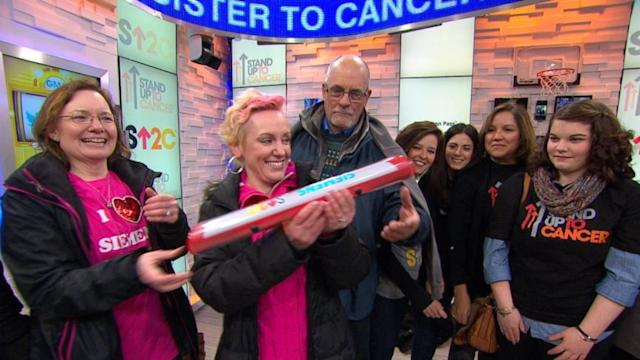 Cross-Country Campaign to 'Stand Up To Cancer'