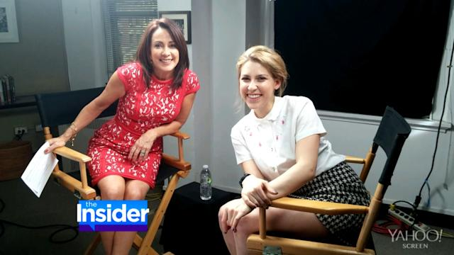 Patricia Heaton Chats With TV Daughter Eden Sher