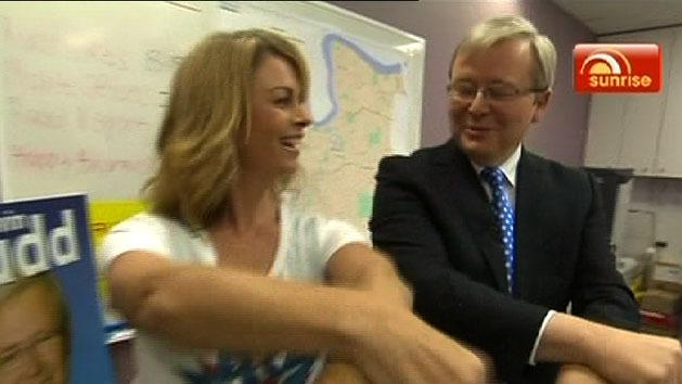 Rudd shows off dancing skills