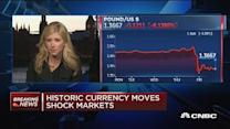 Historic currency moves shock markets