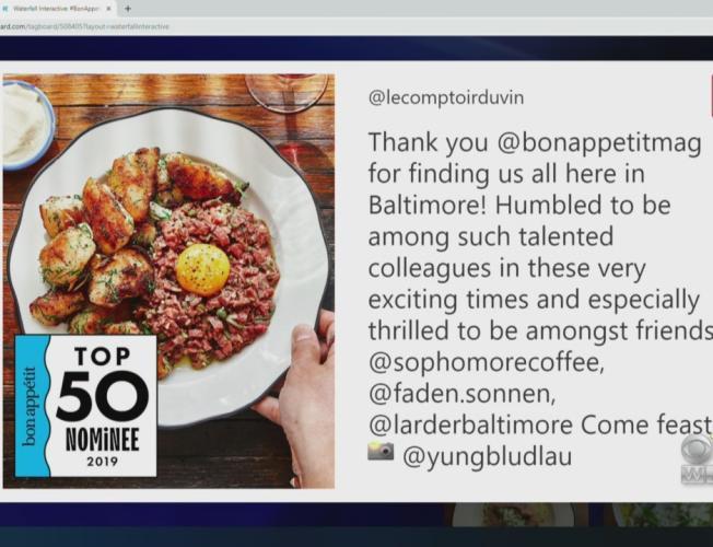 Baltimore S Le Comptoir Du Vin Makes Bon Appetit S 2019 Hot