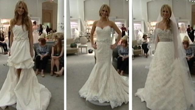 Bride Reveals Gown to Family on 'GMA'