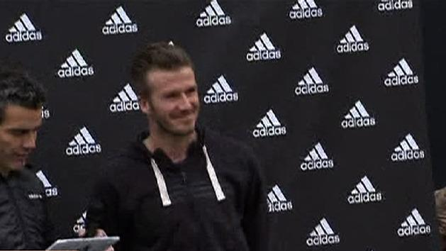 Beckham a hit for PSG club