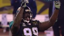 Jacksonville Jaguars defensive tackle Sen'Derrick Marks game-winning sack and celebration