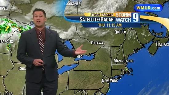 Hotter weather coming to NH