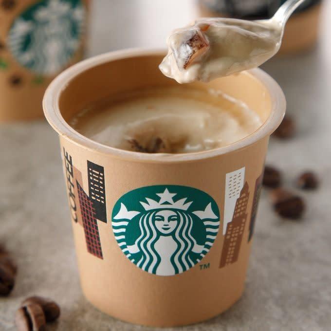 日本Starbucks星巴克布丁