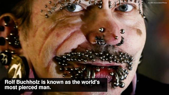 World's most pierced man denied entry in Dubai