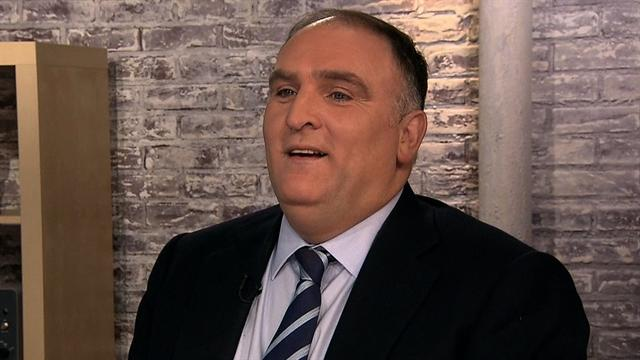 Chef Jose Andres named one of Time's Most Influential People