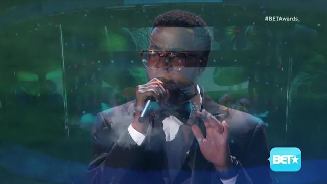 Burnell Taylor Performs at the BET Awards