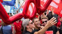 12 Joyful Photos of Marriage Equality Celebrations Around the Country