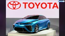 Toyota FCV Concept Previews Fuel Cell Car Coming In 2015: Tokyo Motor Show