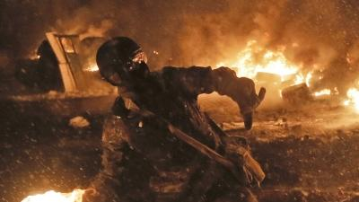 Raw: Kiev Clashes Continue As Deadline Looms