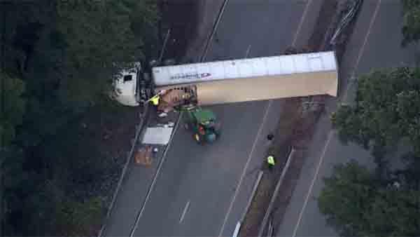 Route 30 Bypass reopens after truck crash in Coatesville