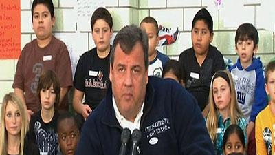 Christie voices worry about nor'easter