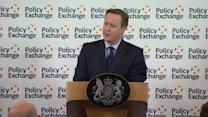 Cameron announces plan to extend 'academy model' to prisons