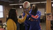 The Harlem Globetrotters came to our office and harassed Jeff Tweedy