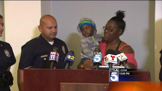 LAPD Officers Save Life of 17-Month-Old Boy Who Stopped Breathing