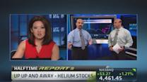 Helium stocks: Up, up and away