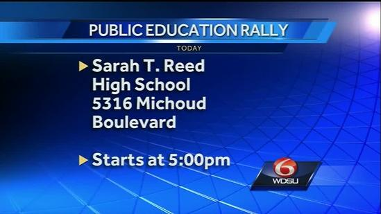 Rally in the name of public education