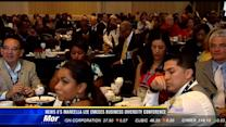 News 8's Marcella Lee emcees business diversity conference
