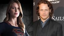 Supergirl's Melissa Benoist and Outlander Star Sam Heughan, Cast in New Romance Movie