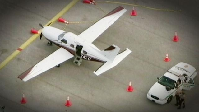 Passenger Vanishes After Falling Out of Small Plane
