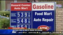 Gas prices show no signs of braking this weekend