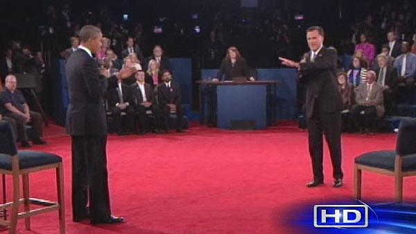Face to face: Obama, Romney in crackling debate
