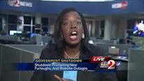 Government shutdown affects education, jobs