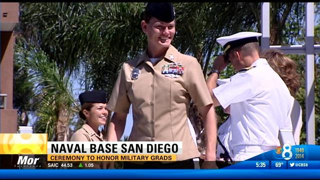 Ceremony honors military grads