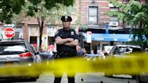 Suspect Dead, Marshals and Cop Wounded in NYC